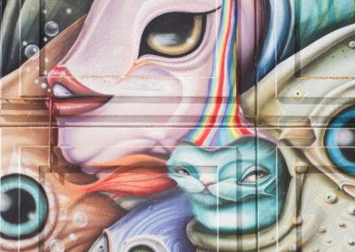 Graffity kunst bijlmer heesterveld